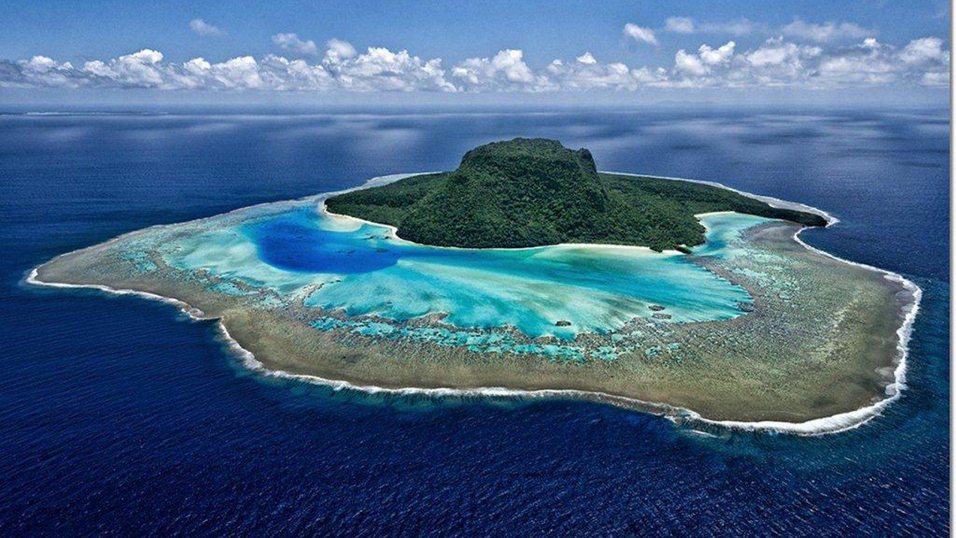 Vatuvara Island.aerial