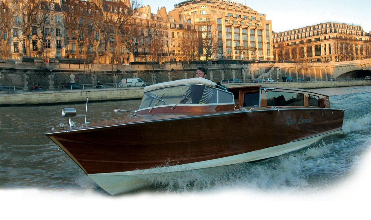 River Limousine Luxury boat paris