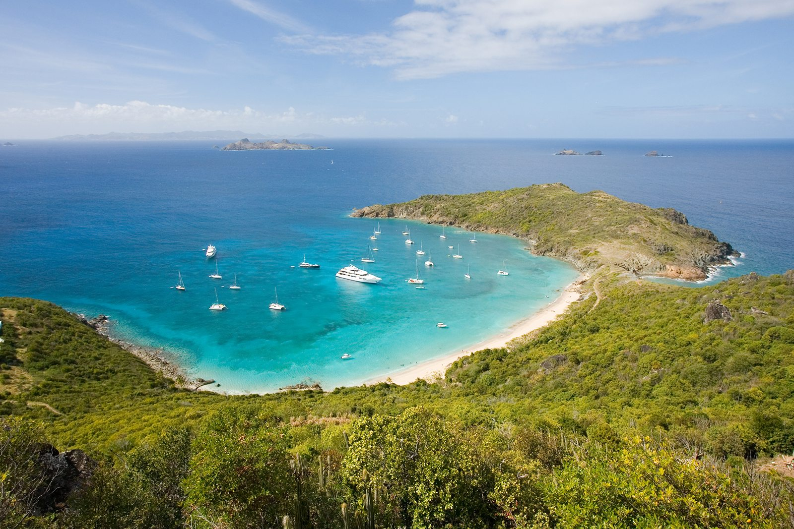 Colombier beach in St Barts