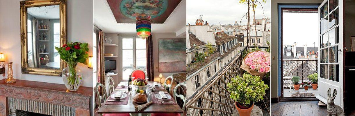 Haven in Paris artist penthouse