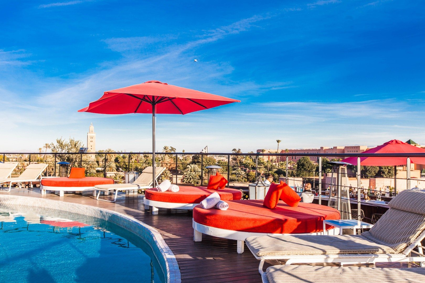 Sky Lounge, courtesy of the Pearl Marrakech Hotel