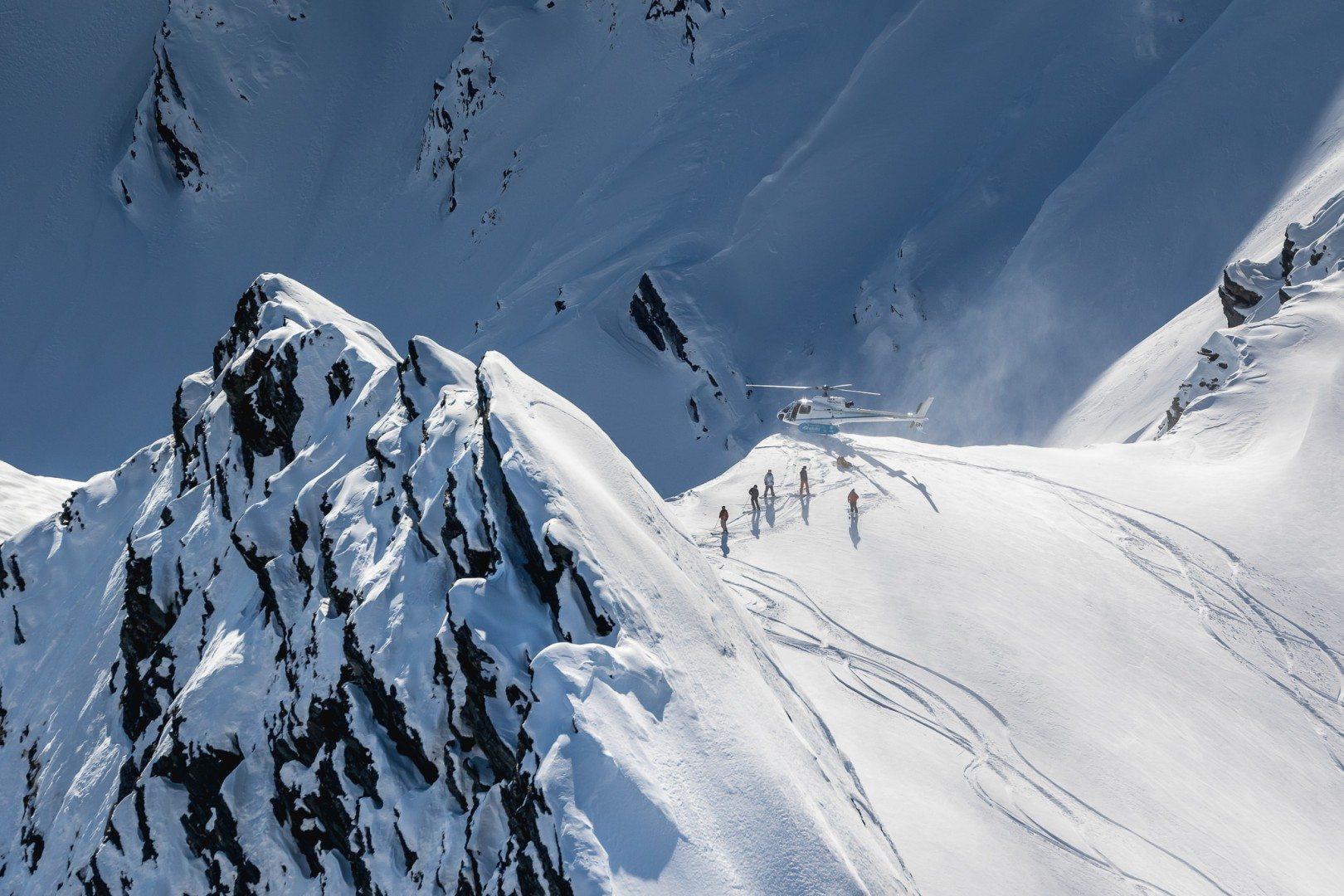 Heli ski MajorDomo Minaret (1)
