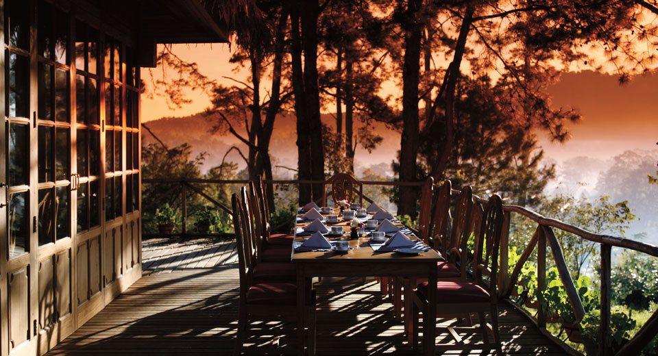 Amara Mountain terrasse 2
