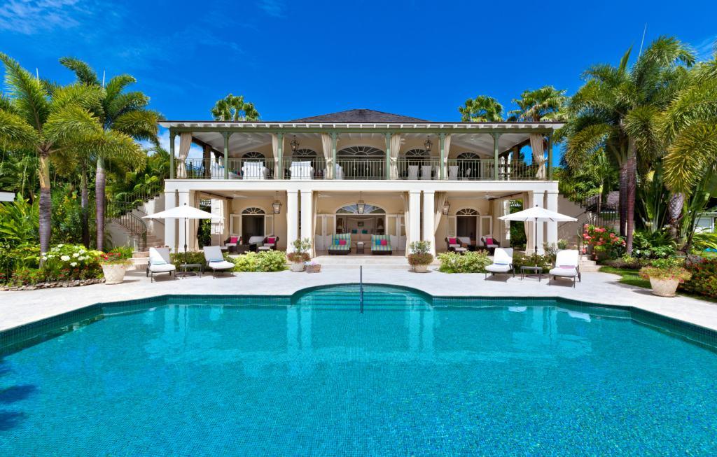 Eden-Sugar-Hill-Pool-Barbados-Blue-Sky-Luxury-UltraVilla